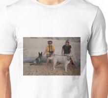6. Kay & Tracey with Labrador & Cross Kelpie Blue Healer Unisex T-Shirt