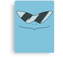 Squirtle Squad Boss Canvas Print