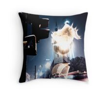 #1014990 cold fusion Throw Pillow