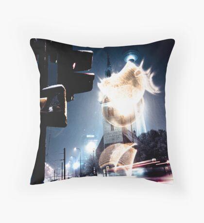 #1014990 cold fusion Throw Pillow