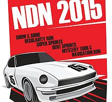 NDN 2015 Poster - 240z by ShaunMaluga