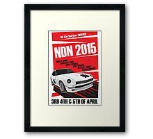 NDN 2015 Poster - 240z Framed Print