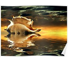 """Seaside Dawn"" Poster"