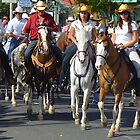 Tope - Horse Parade in Ciudad Colón, Costa Rica by Guy Tschiderer