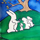 Rabbits and the Egg by Suzi Linden