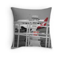 Qantas Colouring Throw Pillow