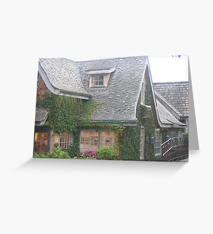 Carmel, A Storybook Town  Greeting Card