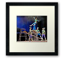 Beijing Acrobats 4 Framed Print