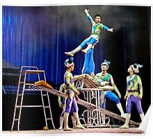 Beijing Acrobats 4 Poster