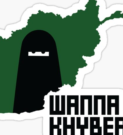 Wanna Khyber? Sticker
