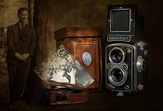 Dad's Old Camera by Holly Cawfield