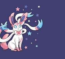 Starry Sylveon by alienaviary