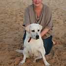 9. Kelsey with her Labrador by Cathie Brooker