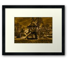 Playground Framed Print