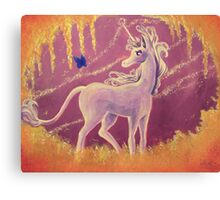 The Last Unicorn Painting Canvas Print