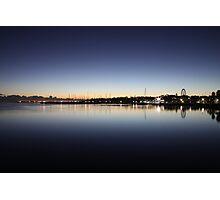 Sunrise, Eastern Beach, Geelong, Victoria Photographic Print