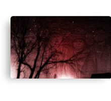Red Hill Mining Town Canvas Print