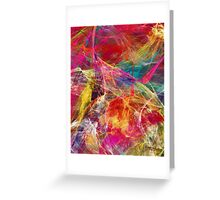 'Simple Abstract 015' Greeting Card