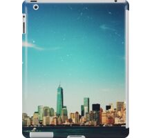View of New York iPad Case/Skin