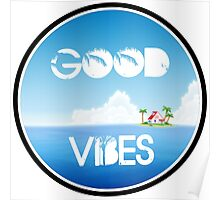 Good Vibes Island Poster