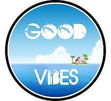 Good Vibes Island Photographic Print