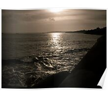 Evening Light St. Mawes Harbour Poster