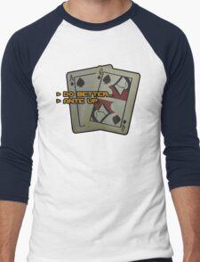 BlackJack CM Men's Baseball ¾ T-Shirt
