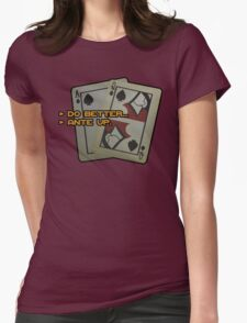 BlackJack CM Womens Fitted T-Shirt