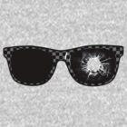 gunshot glasses by Byronde