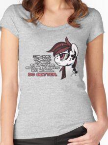 Do Better Women's Fitted Scoop T-Shirt