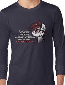 Do Better Long Sleeve T-Shirt