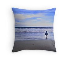 Make Me Feel Small Throw Pillow