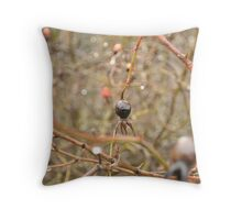 Thorny bush Throw Pillow