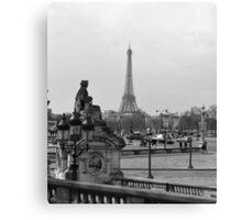 Paris. Canvas Print