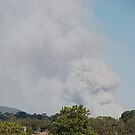 Smoke from the fires Outer Eastern Suburbs -  by lettie1957