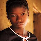 Young Mozambican Yao Woman, Meponda by Tim Cowley