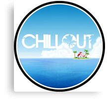 Chillout - Island Canvas Print