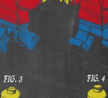 Lego Man Patent Sticker