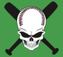 Baseball Jolly Roger by beloknet