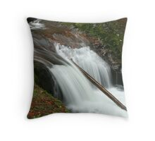 Sweet Creek Falls 2 Throw Pillow