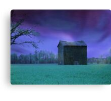 Sunday Shining Moody Blue Version Canvas Print