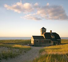 Old Harbor Life Saving Station (Provincetown, Cape Cod) by Christopher Seufert