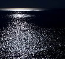 Cape Cod Ocean by Moonlight (Aquinnah) by Christopher Seufert