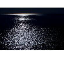 Cape Cod Ocean by Moonlight (Aquinnah) Photographic Print