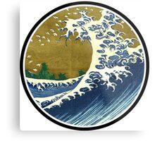 Japanese wave Metal Print