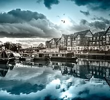 Northwich Cheshire - splash of colour by outlawalien