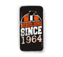 Cleveland Football Rebuilding Samsung Galaxy Case/Skin