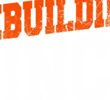 Cleveland Football Rebuilding Sticker
