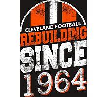 Cleveland Football Rebuilding Photographic Print