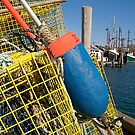 Menemsha Harbor Lobster Trap, Martha&#x27;s Vineyard by Christopher Seufert